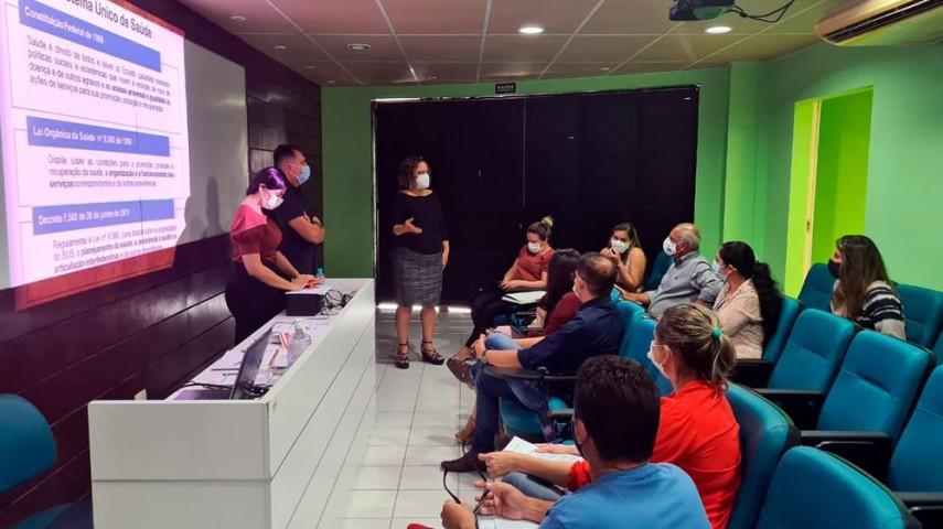 Imagem 2 da notícia CPSMR recebe visita da Secretaria de Saúde do Rio Grande do Norte