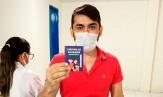 Imagem 1 da notícia Policlínica de Russas finaliza aplicação da primeira dose da vacina contra a Covid-19