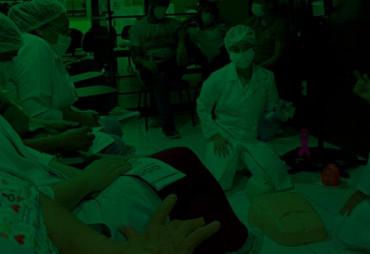 Equipe da Policlínica Regional de Russas realiza treinamento de Parada Cardiorrespiratória
