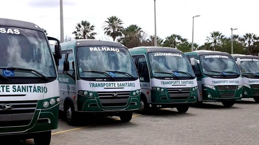 Imagem 1 - Transporte Sanitário do CPSMR