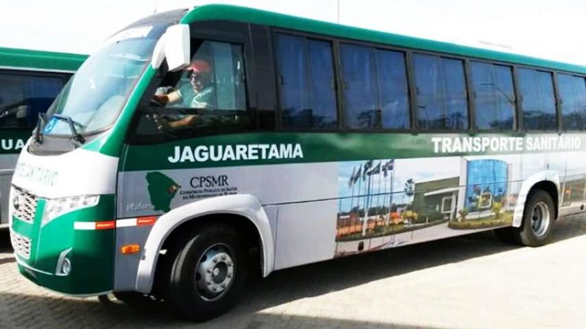 Imagem 4 - Transporte Sanitário do CPSMR - Jaguaretama