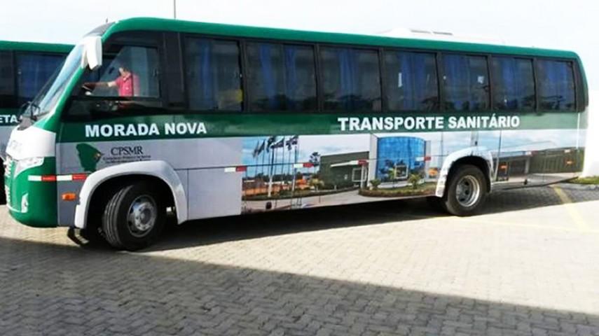 Imagem 6 - Transporte Sanitário do CPSMR - MOrada Nova