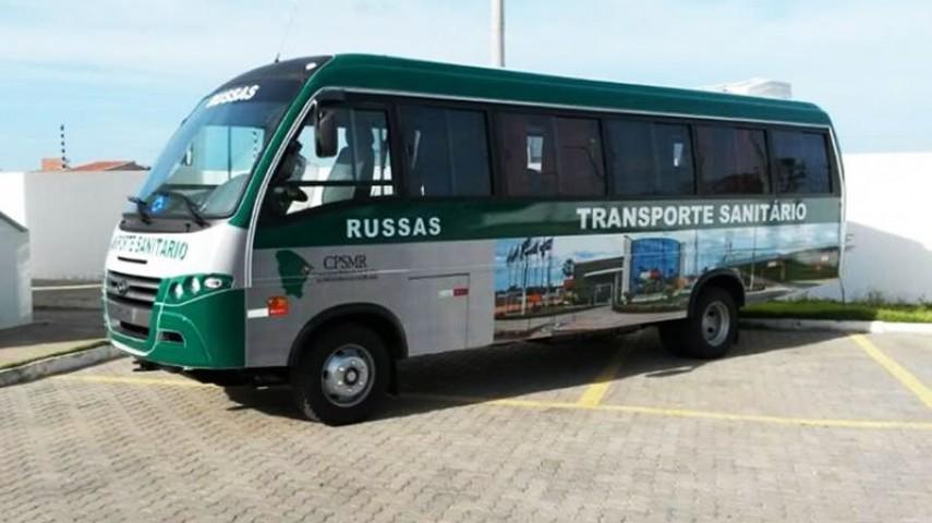 Imagem 8 - Transporte Sanitário do CPSMR - Russas